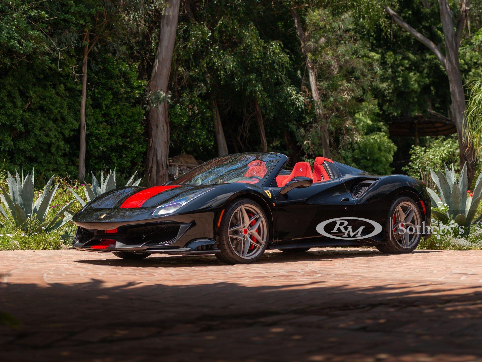 2020 Ferrari 488 Pista Spider Vin Zff91hma7l0253232 Classic Com