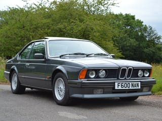 1988 BMW 635 CSI Highline
