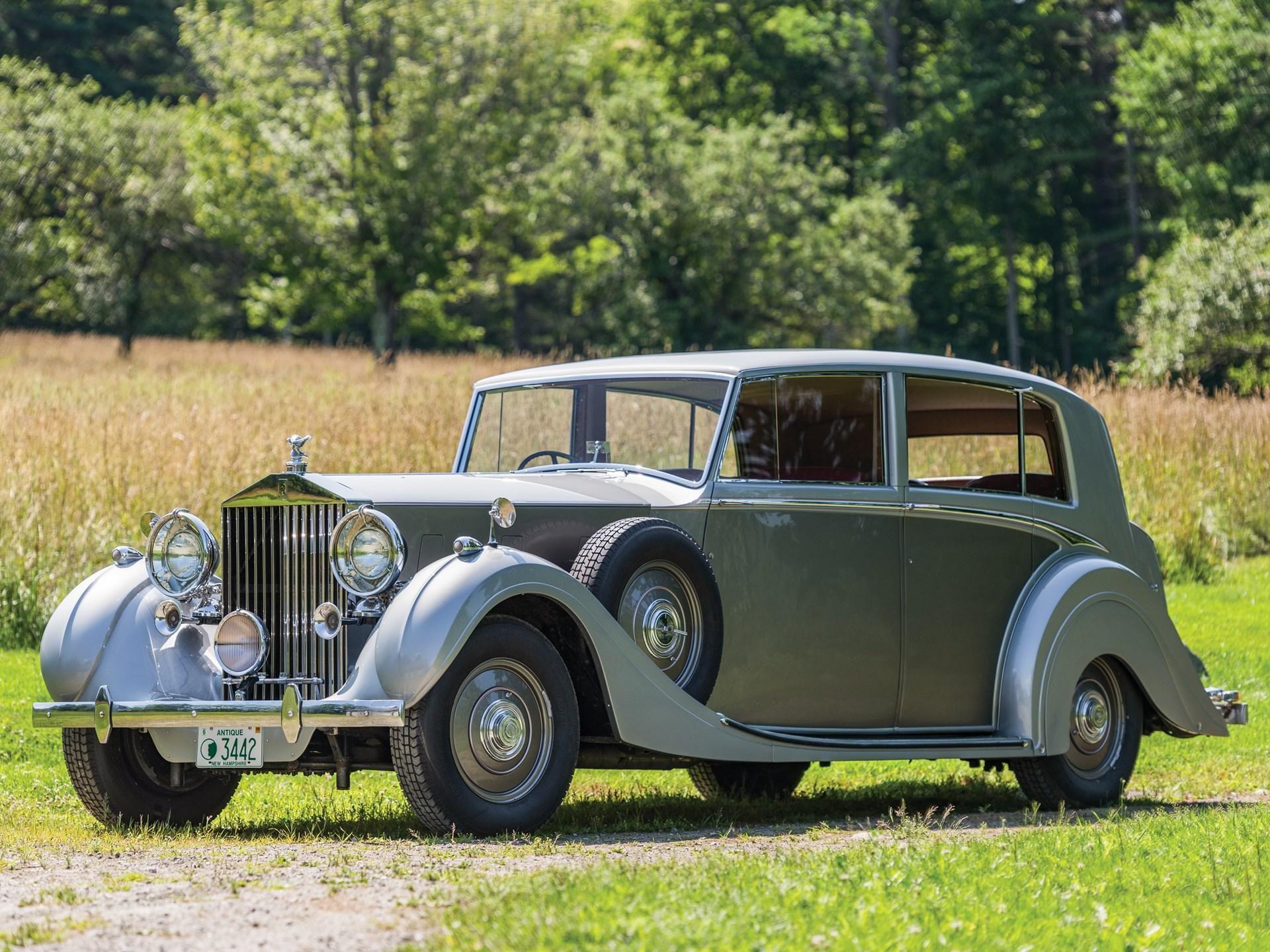 1939 Rolls-Royce Phantom III Limousine by h.j. Mulliner