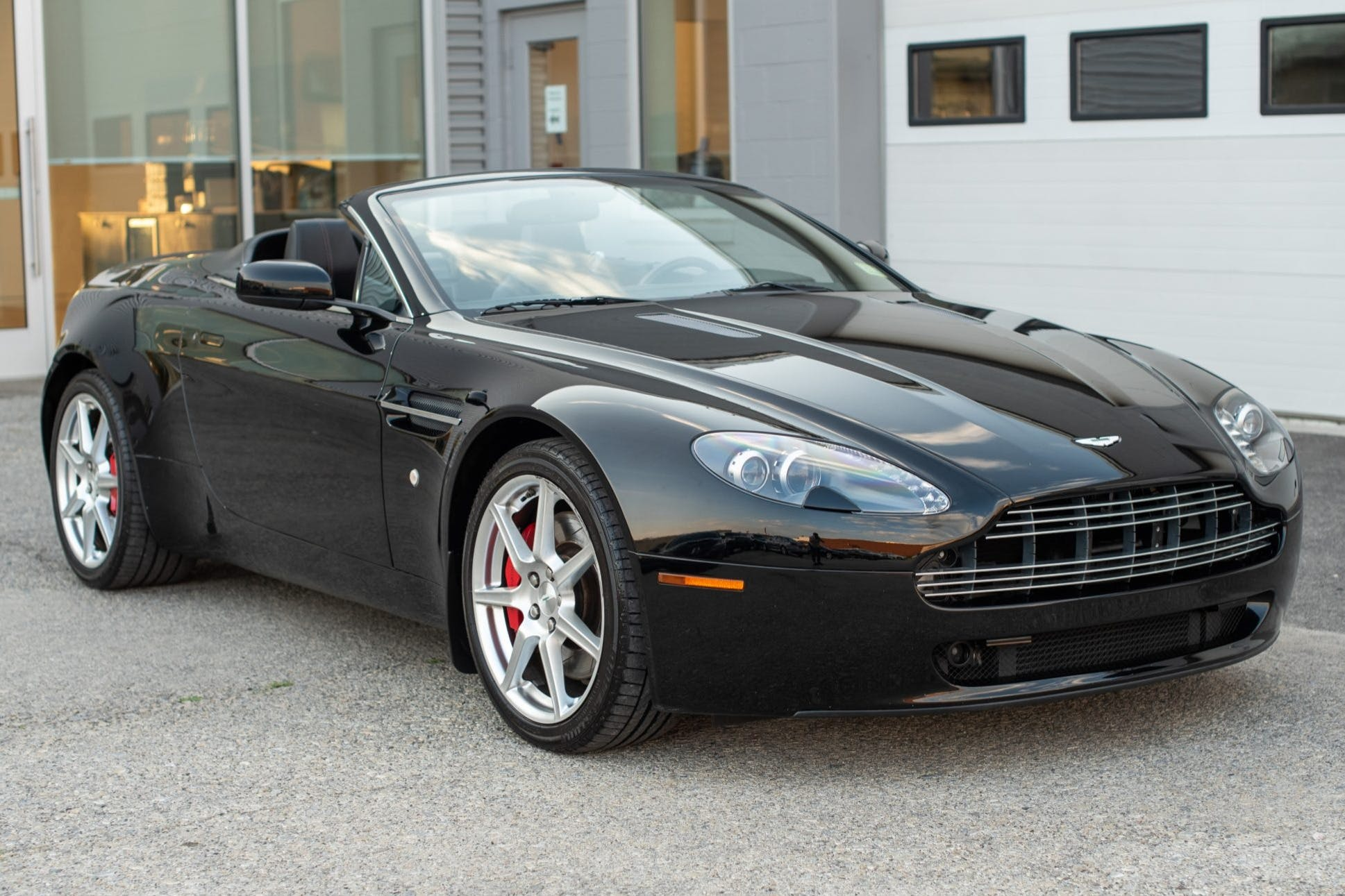 2007 Aston Martin V8 Vantage Roadster 6 Speed For Sale At Bring A Trailer Auction Classic Com