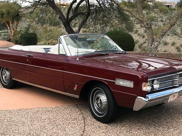 1966 Mercury S-55 Convertible