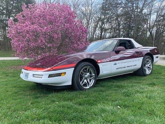 1995 Chevrolet Corvette Pace Car Edition Convertible