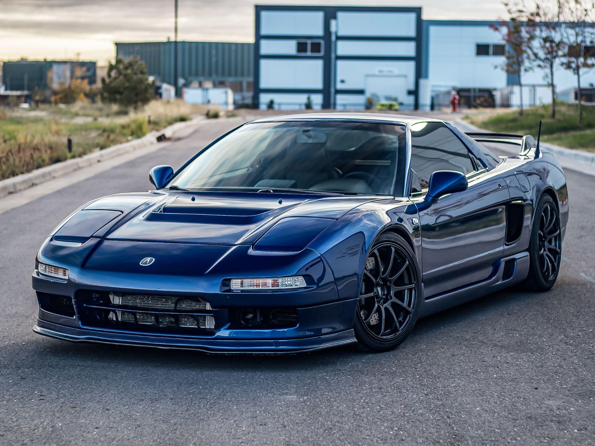 1998 Acura NSX-T Turbo Monte Carlo Blue
