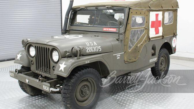 1962 Willys Jeep M170 Ambulance