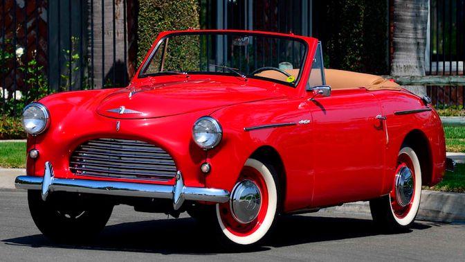 1952 Austin A40 Sports Convertible