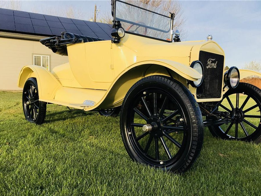 1917 Ford Model T Convertible
