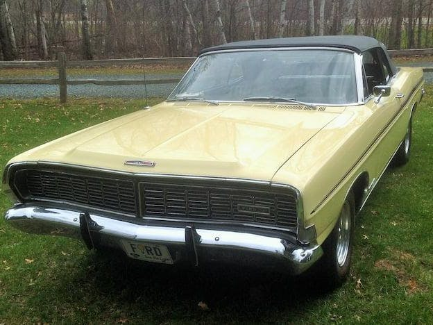 1968 Ford Galaxie XL GT Convertible