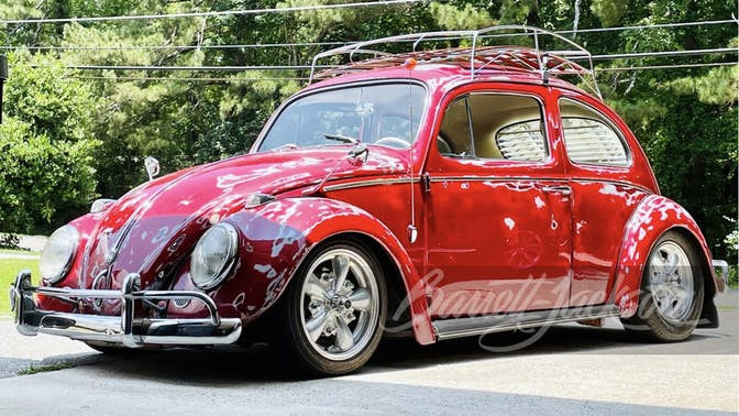 1962 Volkswagen Type I Custom Sedan