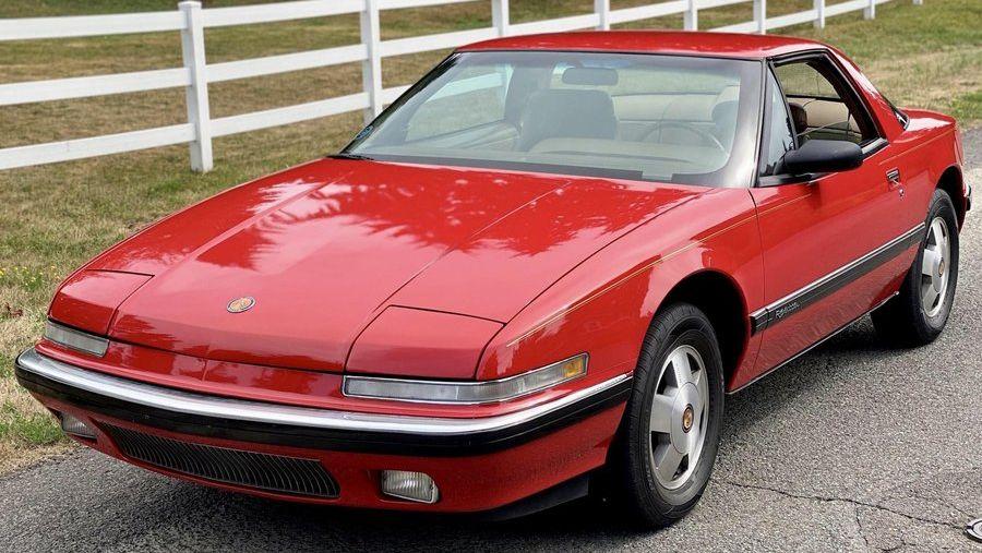 1990 Buick Reatta Vin 1g4ec13c2lb904557 Classic Com