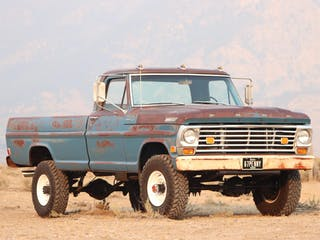 1967 Ford F-250 4WD 4-Speed