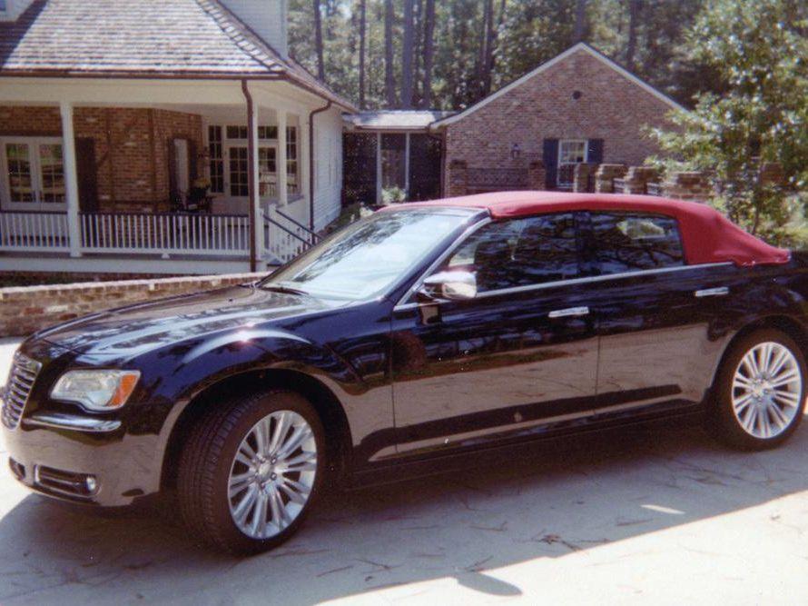 2011 Chrysler 300 Custom Convertible