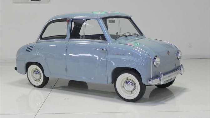 1957 Goggomobil T-250
