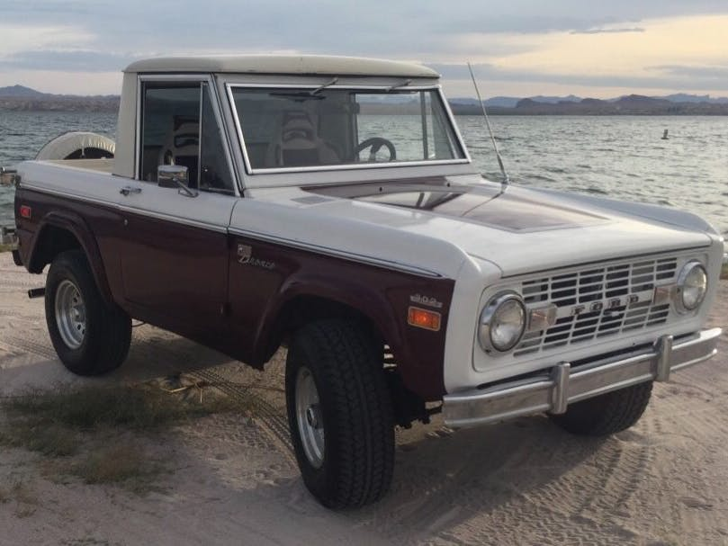 1970 Ford Bronco Sport 5-Speed