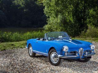 1959 Alfa Romeo Giulietta Spider Tipo 750 D