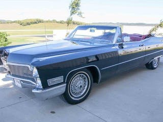 1968 Cadillac Coupe DeVille Convertible