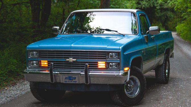 1984 Chevrolet K10 Scottsdale 4×4