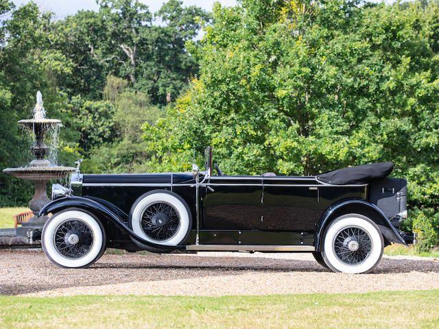 1929 Rolls-Royce Phantom I Newmarket Tourer