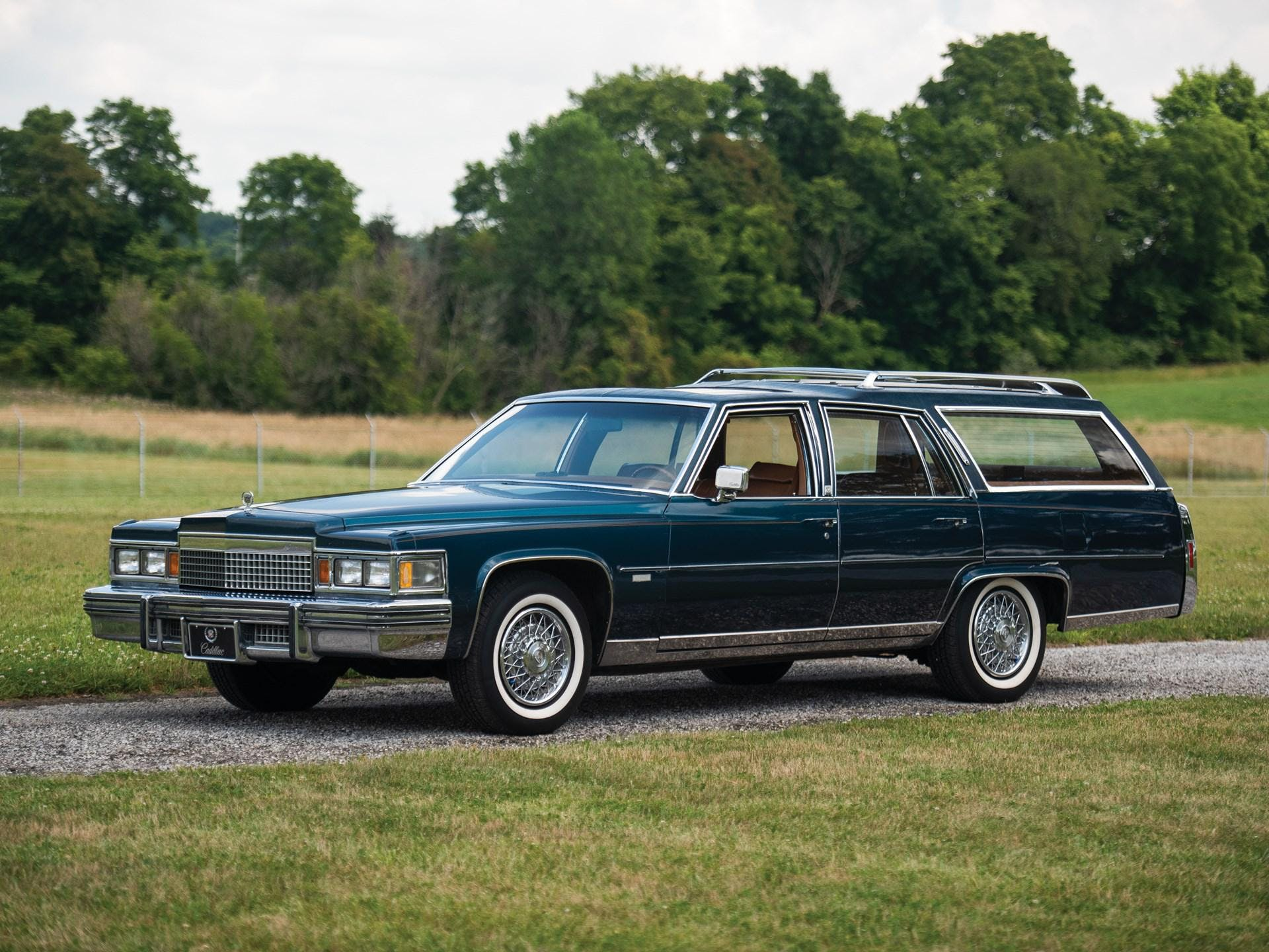 1979 Cadillac Fleetwood Brougham d'Elegance Station Wagon by r.s. Harper Custom Coachbuilders