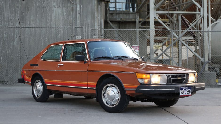 1980 Saab 900 Gli 4-Speed