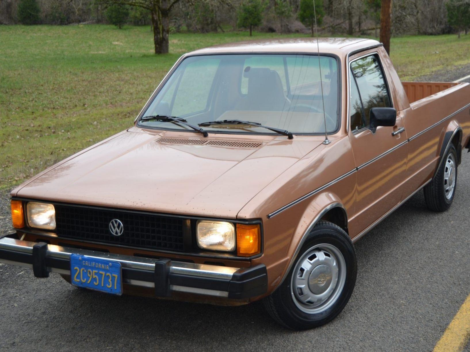1982 Volkswagen Rabbit Pickup Diesel 5-Speed