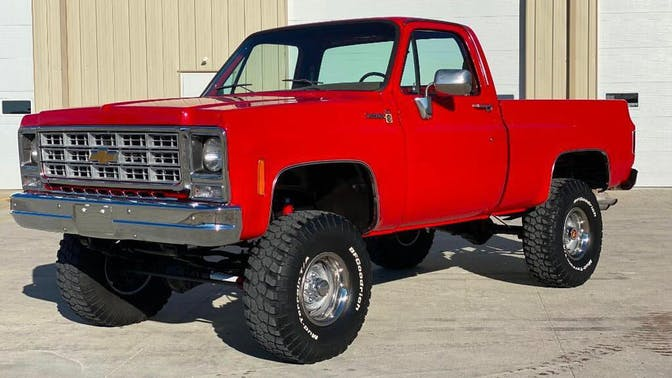 1979 Chevrolet K10 Scottsdale Pickup