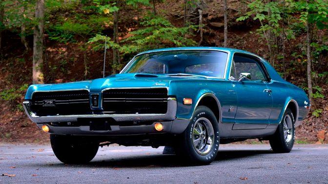 1968 Mercury Cougar GT-E