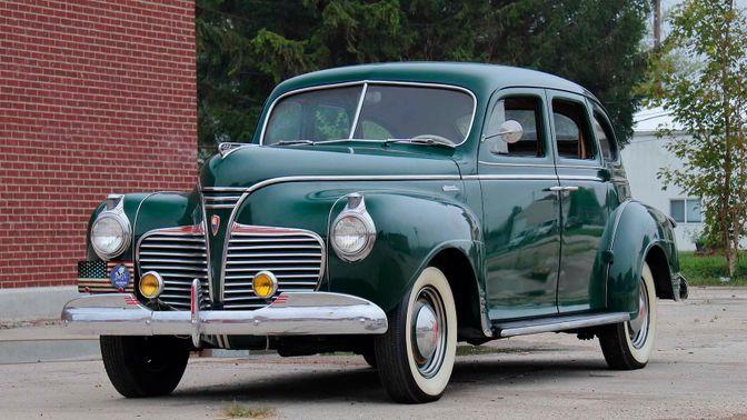 1941 Plymouth Special Deluxe Sedan