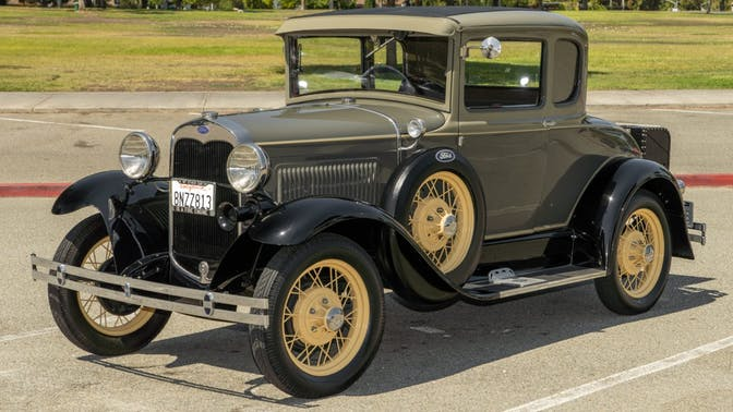 1930 Ford Model A Coupe