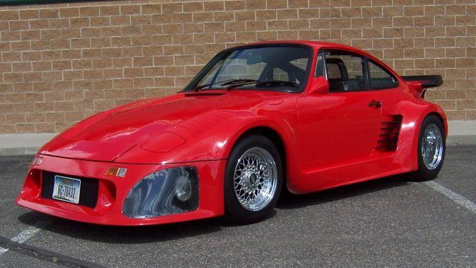 1981 Porsche 911SC Slant Nose Conversion