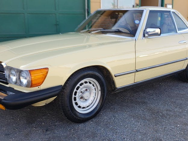 1979 Mercedes-Benz 450SL Convertible