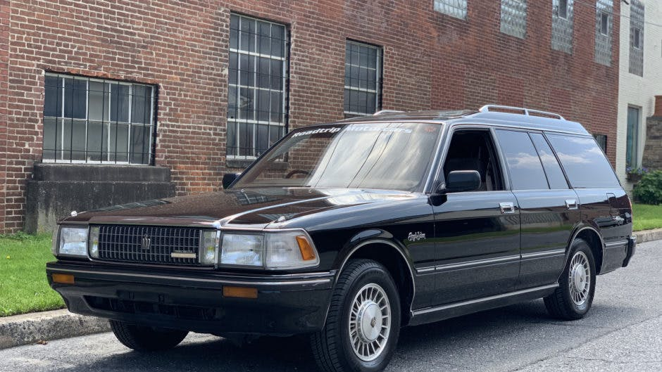 1988 Toyota Crown Royal Estate Hearse