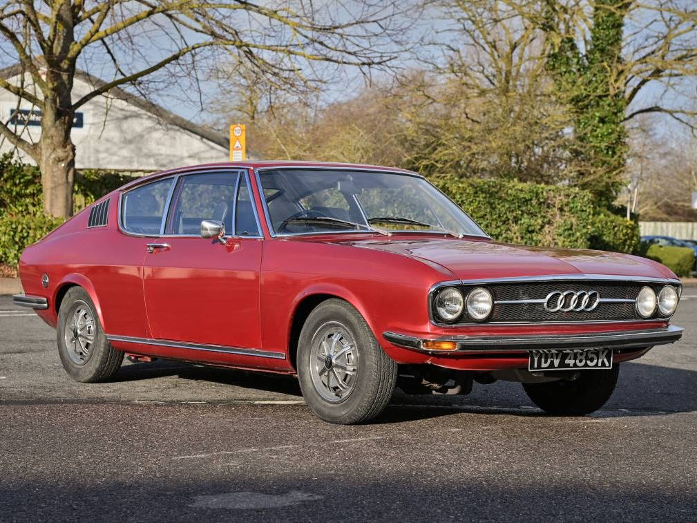 1972 Audi 100S Coupe