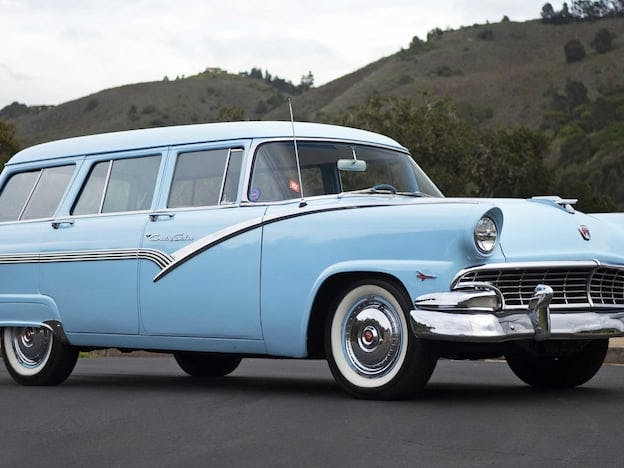 1956 Ford Customline Country Wagon
