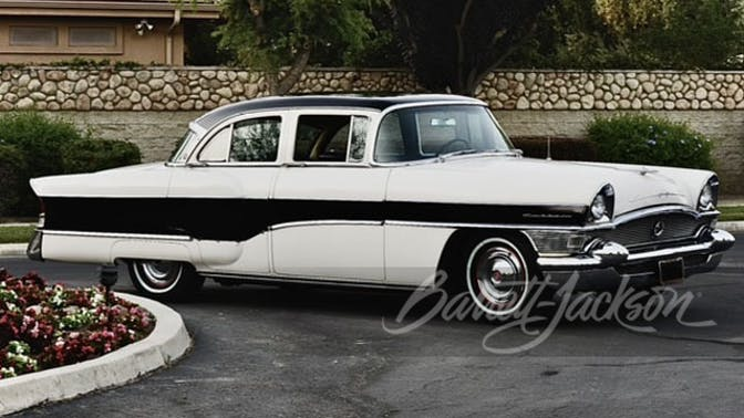1956 Packard Clipper Custom 4-Door Sedan