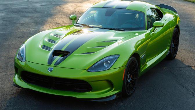 2017 Dodge Viper GTC Snakeskin Edition