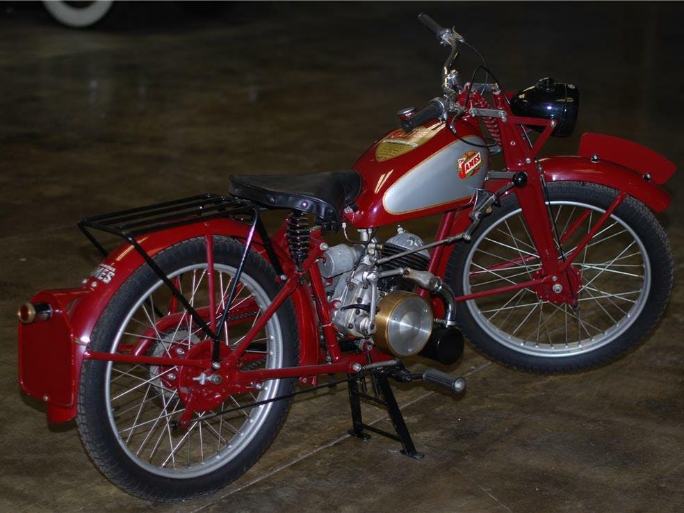 1946 James Ml Motorcycle