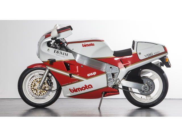 1989  Bimota  1,000cc YB6 Exup