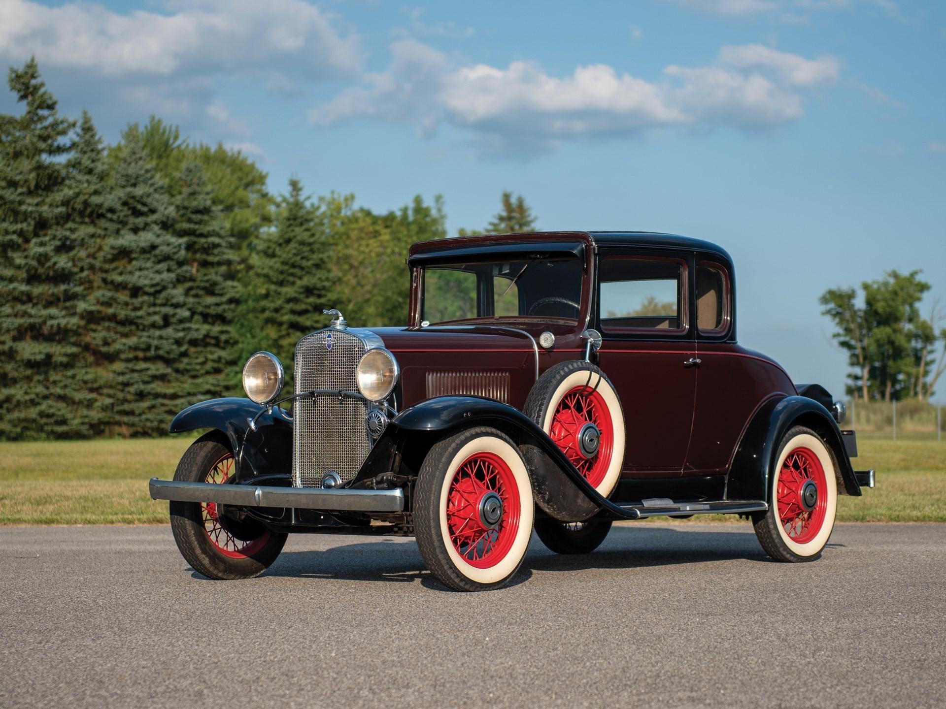1931 Chevrolet Deluxe Five-Window Sedan