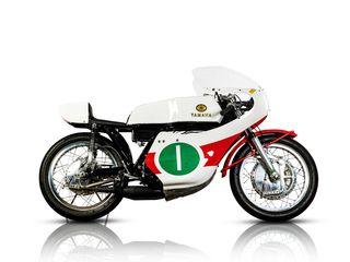 1972 Yamaha 250CC TD3 Racing Motorcycle