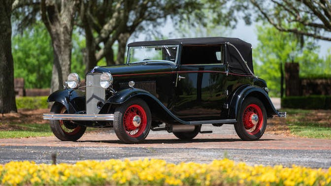 1932 Ford V-8 Drophead Coupe by Carlton