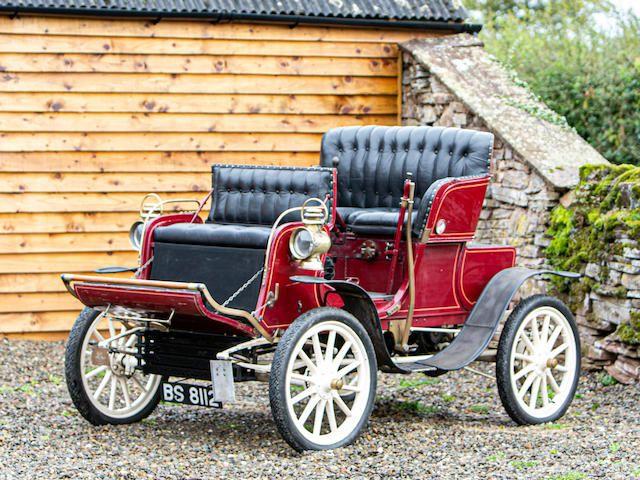 1903 Stevens-Duryea 7HP Twin-Cylinder Model L Stanhope