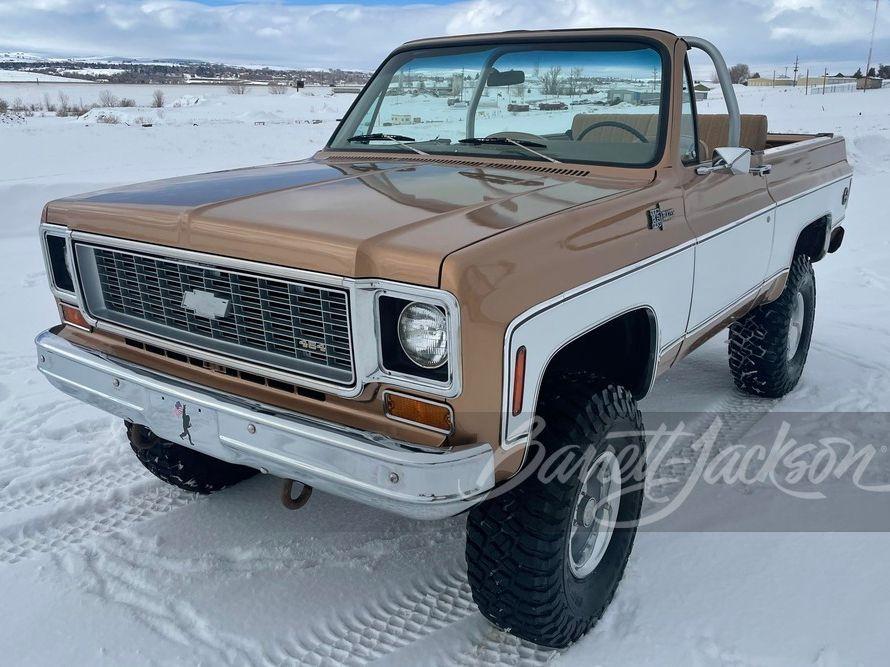 1974 Chevrolet K5 Blazer Custom SUV