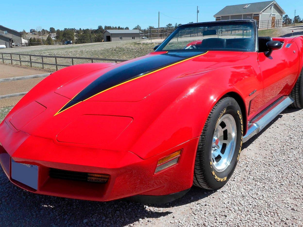 1982 Chevrolet Corvette Convertible