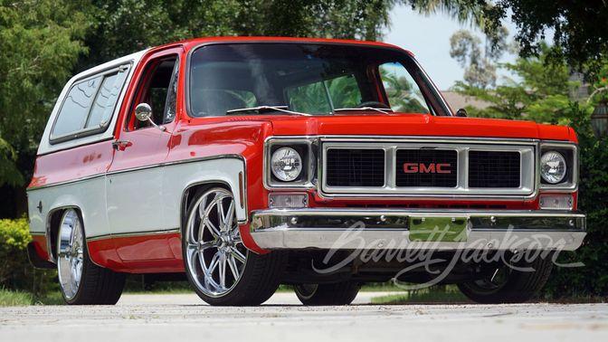 1977 Chevrolet K5 Blazer Custom SUV
