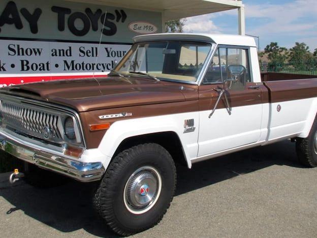 1973 Jeep J4000 Pickup