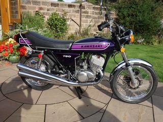 1974 Kawasaki 750CC H2