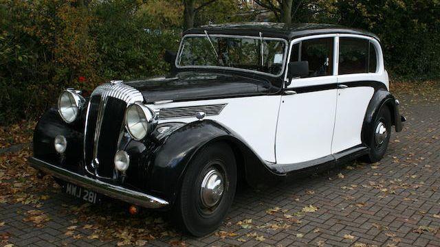 1950 Daimler DE27 Limousine