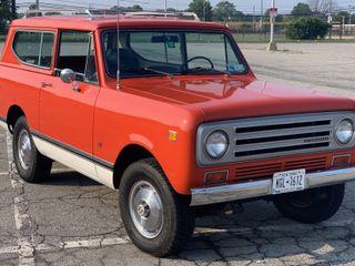 1972 International Harvester Scout II Traveltop 4×4