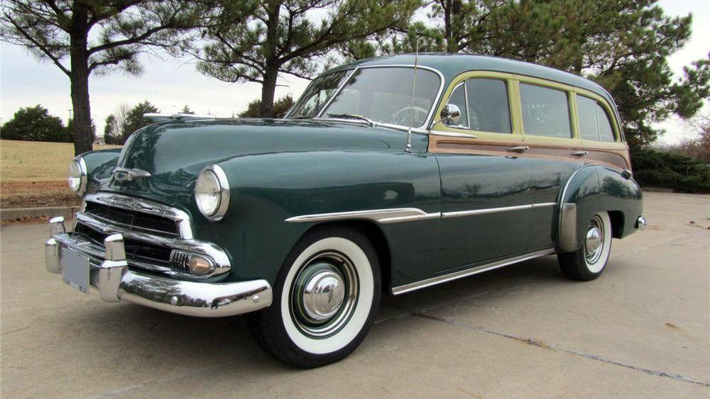 1951 Chevrolet Styleline Deluxe Woody Wagon