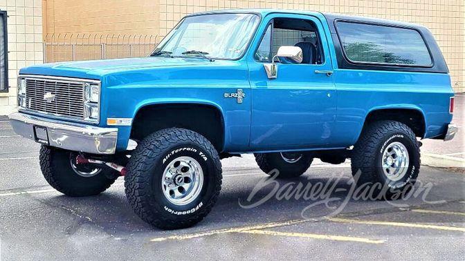 1988 Chevrolet K5 Blazer Custom SUV